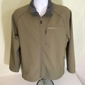 Merrell mens tan jacket